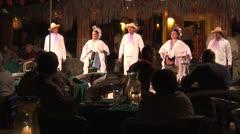 WorldClips-Fiesta Dancers Finale Stock Footage