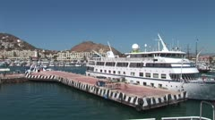 WorldClips-Leaving Cabo Marina-pov Stock Footage
