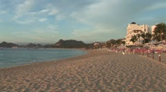 WorldClips-Playa Medano Dawn-zoom Stock Footage