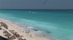 WorldClips-Cancun Beach-xws Stock Footage