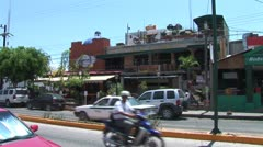 WorldClips-Cancun City Restaurant-ws Stock Footage
