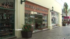 WorldClips-Cancun Mall Silver Store Stock Footage