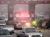 Bridge Accident 01 PAL Stock Footage