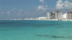 WorldClips-Cancun Resorts-xws Stock Footage