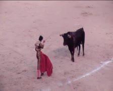 Bullfight2 Stock Footage