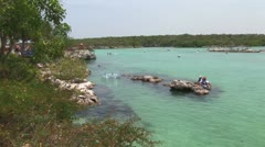 WorldClips-Xel-Ha Cove-xws Stock Footage