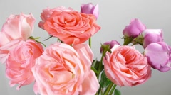 Flower Bouquet Placement - stock footage