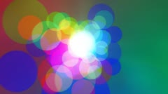 Colorcles - video background loop Stock Footage
