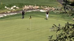 WorldClips-Beavercreek Putters-ws Stock Footage