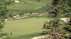 WorldClips-Beavercreek Putter-ws Stock Footage