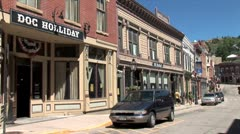 WorldClips-Central City Doc Holliday Bar Stock Footage
