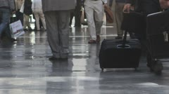 Man with Briefcase - stock footage