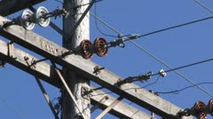 Power Lines 7 Stock Footage