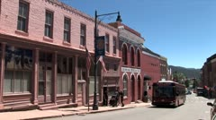 WorldClips-Central City Trolley Stock Footage