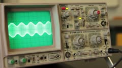 Oscilloscope - stock footage