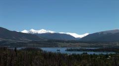 WorldClips-Dillon Lake Reservoir Islands-xws-pan - stock footage