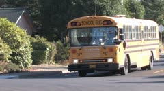 School Bus - stock footage