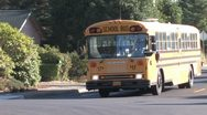 Stock Video Footage of School Bus