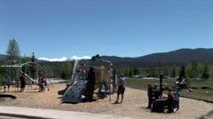 WorldClips-Firsco Marina Playground Stock Footage