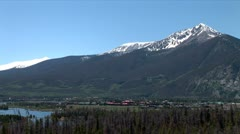 WorldClips-Frisco on Dillon Lake-xws-zoom Stock Footage