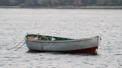 Stock Video Footage of Wooden boat