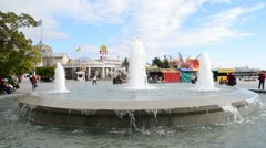 Fountain Stock Footage