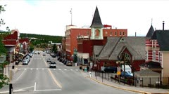WorldClips-Leadville-Cloudy-ws Stock Footage