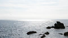 Sea landscape Stock Footage