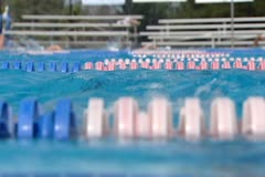 Swim meet Stock Footage
