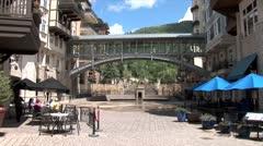 WorldClips-Lionshead Sky Bridge-ws Stock Footage