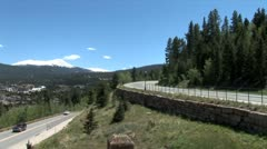 WorldClips-Mountain Roads-ws Stock Footage