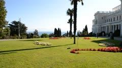 Livadia Palace Stock Footage
