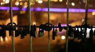 Stock Video Footage of Love Locks