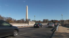WorldClips-Independence Avenue Traffic-ws Stock Footage