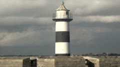 Lighthouse at Southsea Stock Footage