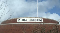 D Day Museum Stock Footage