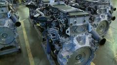 Diesel engines 9.mp4 Stock Footage