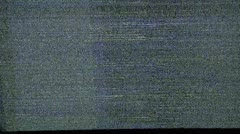 Analog HD TV snow. Blank television screen. No signal. White noise. Static snow. Stock Footage