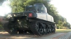WWII Tank Stock Footage