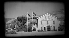 This is the Place Heritage Park visitor center OLD P HD 0538.mp4 Stock Footage