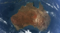 Earth australia Stock Footage