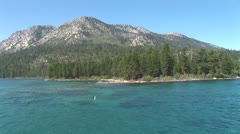 WorldClips-Emerald Bay Waters Stock Footage