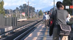 Train Station 3 Stock Footage