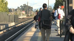 Train Station 4 Stock Footage