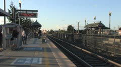 Train Station 5 Stock Footage