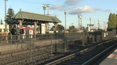 Train Station 7 Stock Footage