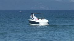WorldClips-Pleasure Boat and People Stock Footage