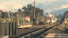 Train Station 8 Stock Footage