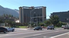 WorldClips-Stateline Casino Strip-pan Stock Footage