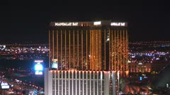 WorldClips-Mandalay Bay-MGM-zoom Stock Footage